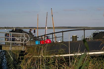 Boot van de zeeverkenners