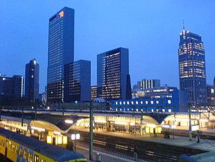 Hoge Rotterdamse kantoren