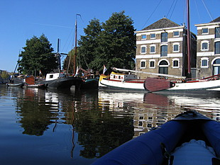 Oude pakhuizen