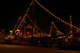 Verlichte schepen