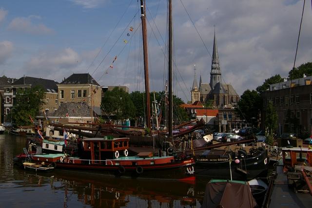 Haven met Gouwekerk