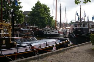 Veel boten, weinig bezoekers