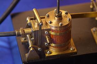 Geisoleerde cilinder van een balansmachine