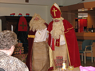 Sint en Sint als zaklopers