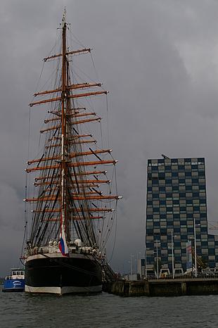 Groot Russisch zeilschip