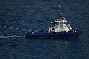 Ixus keert het cruiseschip