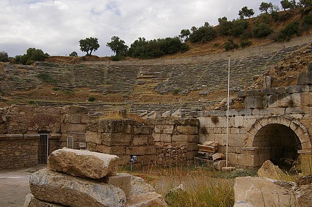 Het grote theater van Nysa