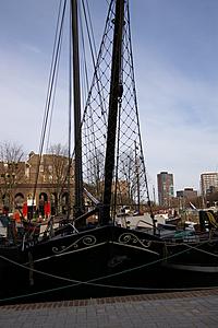 Zeilschip met kluiver