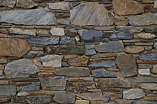 Kunstig gestapelde muren
