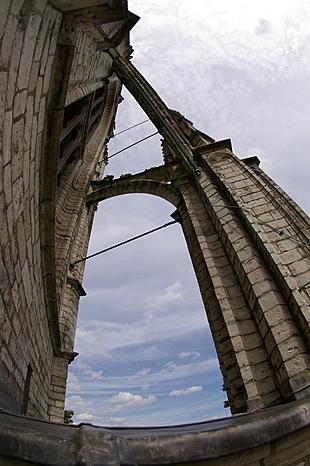 Op de rondgang van de toren