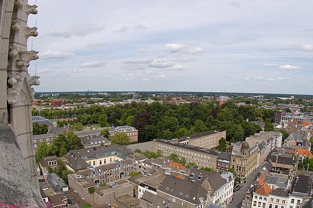 Het kasteel en het park van Breda