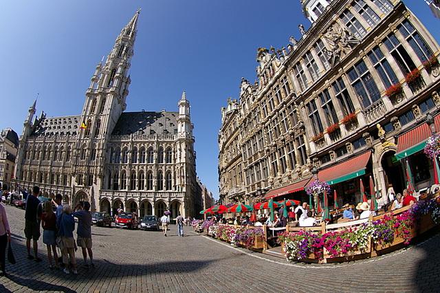De Grand Place, oftewel de Grote Markt