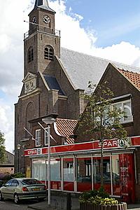 De kerk van Moerkapelle
