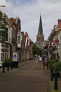 Oud straatje in Voorburg