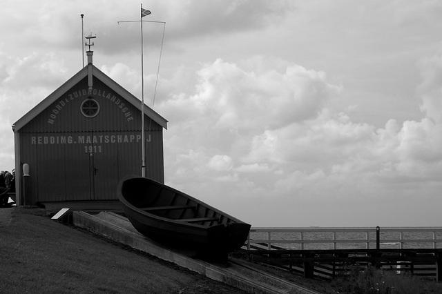 De reddingsboot van Hindeloopen