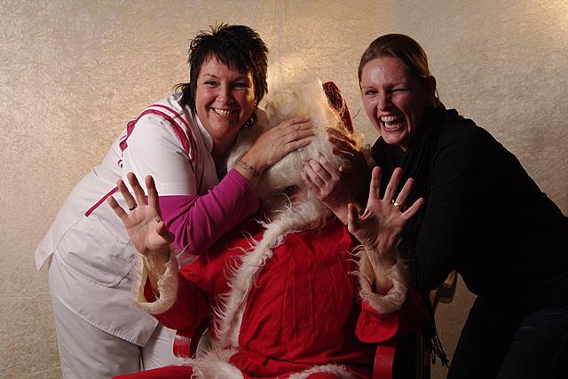 De Kerstman in Korte Akkeren