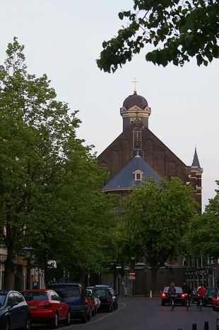 Een oude kerk
