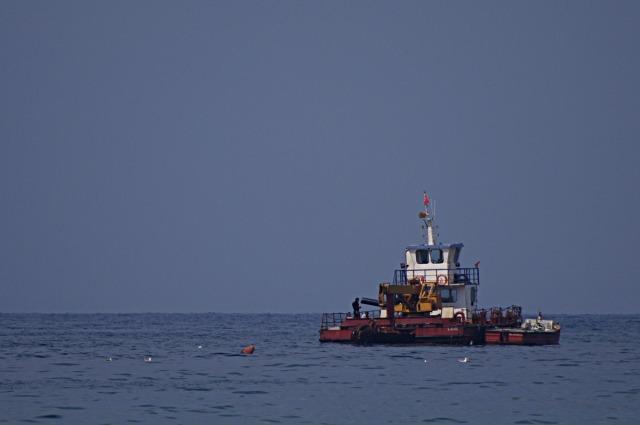 Vaartuig, dat helpt bij het leggen van buizen