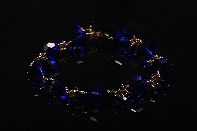 Armband met zwarte achtergrond