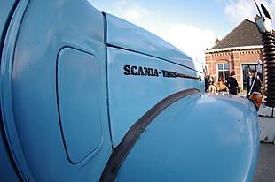 Scania-Vabis buiten