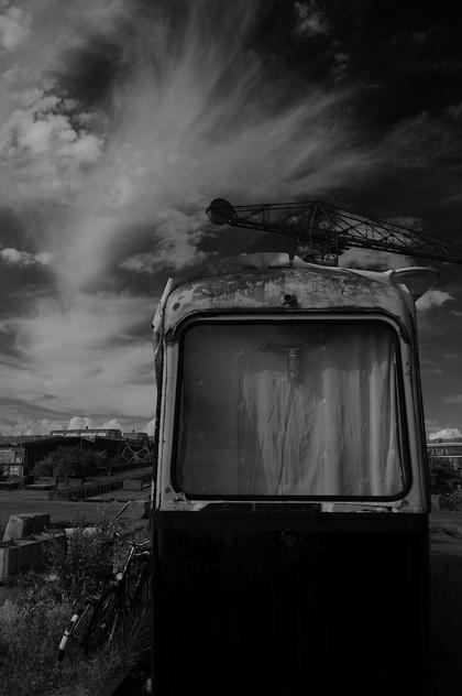 Tram bij NDSM