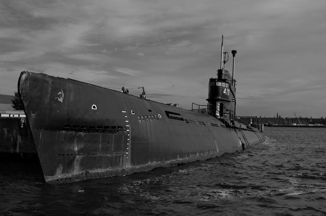 Russische duikboot bij NDSM