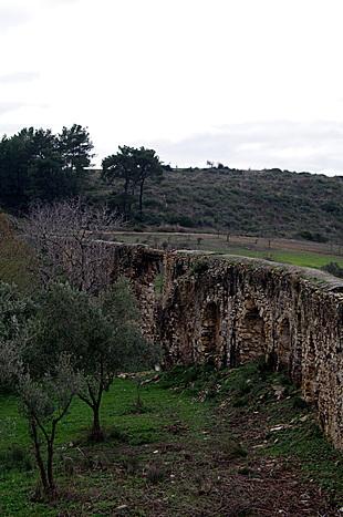 Startpunt van het aquaduct