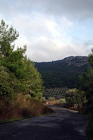 De weg naar Kirazlı