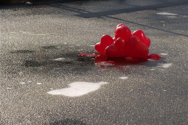 Valentijnsdag ballonnen