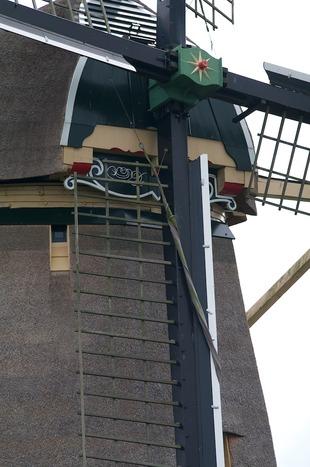 Hollandse poldermolen