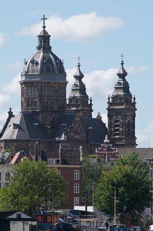 Gezicht op Amsterdam