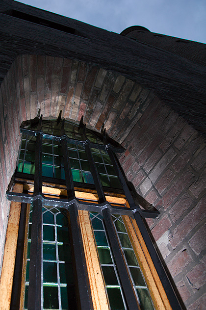 Raam rond het Binnenhof