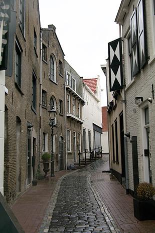 Straatje in Schiedam