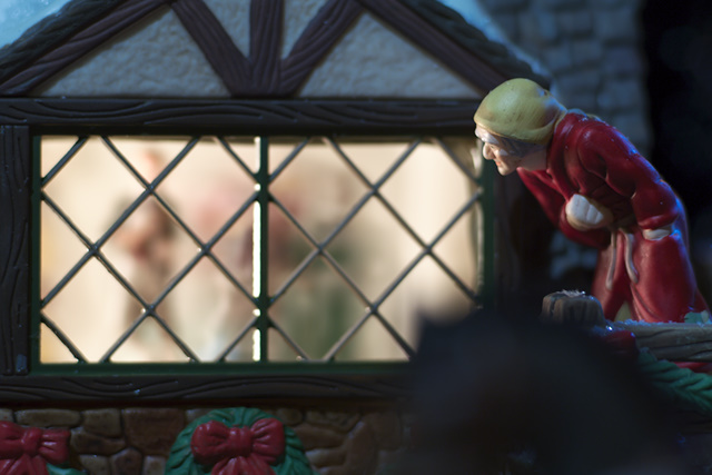 Scrooge kerstdorp